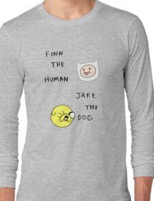 finn and jake Long Sleeve T-Shirt