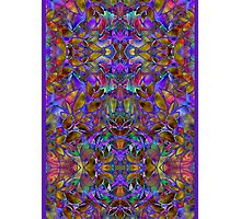 Fractal Floral Abstract Photographic Print