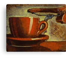 Still life with racing bike Canvas Print