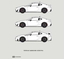 Subaru BRZ/Scion FR-S/Toyota 86  by RexDesigns