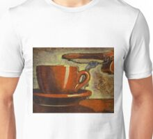 Still life with racing bike Unisex T-Shirt