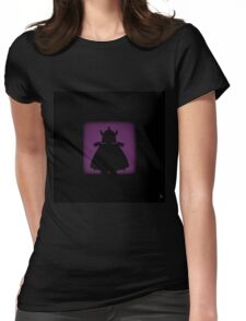 Shadow - Shredded Womens Fitted T-Shirt