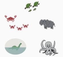 Pixel Critters by Beemes