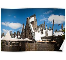 The Village of Hogsmeade Poster