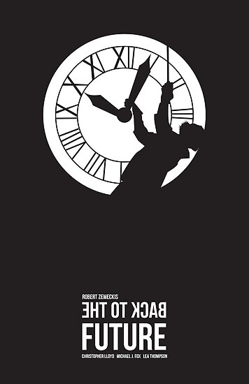 Back to the Future - Doc Brown & the Clock Tower by Kodi  Sershon