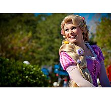 Tangled's Own.... Rapunzel Photographic Print
