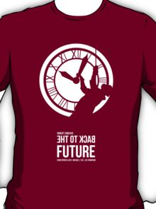 Back to the Future - Doc Brown & the Clock Tower T-Shirt