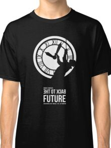 Back to the Future - Doc Brown & the Clock Tower Classic T-Shirt