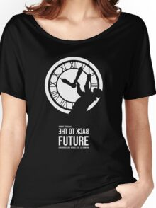 Back to the Future - Doc Brown & the Clock Tower Women's Relaxed Fit T-Shirt