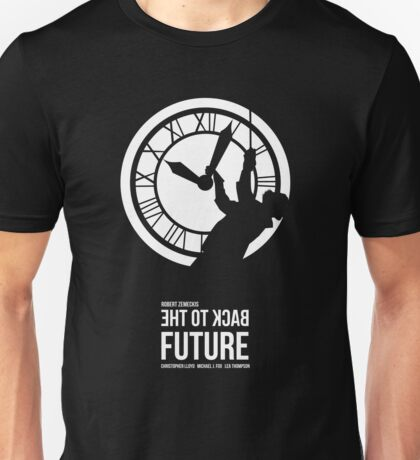 Back to the Future - Doc Brown & the Clock Tower Unisex T-Shirt