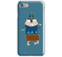 knight on blue iPhone Case/Skin