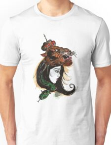 Tigers and Snakes and Crowns- Oh My! Unisex T-Shirt