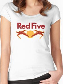 Red Five Women's Fitted Scoop T-Shirt