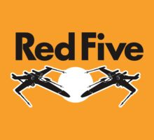 Red Five (Rebel Variant) by huckblade