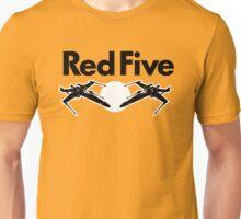 Red Five (Rebel Variant) Unisex T-Shirt