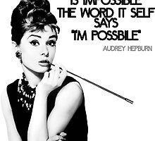 Audrey Hepburn by VovaShirts