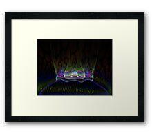 Teleportation Framed Print