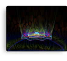 Teleportation Canvas Print