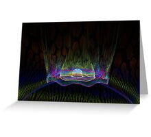 Teleportation Greeting Card