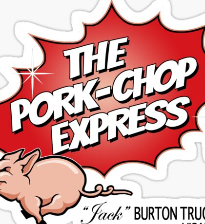 Pork Chop Express - Original Logo  Sticker