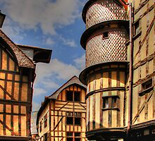 Medieval City, Troyes, France by MaluC