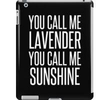 MERMAID MOTEL 4 iPad Case/Skin