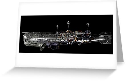 underwater airship of musical devices by tinncity