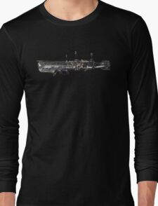 underwater airship of musical devices Long Sleeve T-Shirt