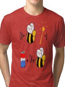 Obi-Wan Kenobi Pun (oh bee wand) Tri-blend T-Shirt