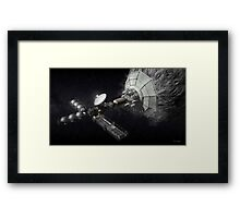 Asteroid Mining And Processing Framed Print