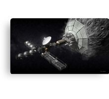 Asteroid Mining And Processing Canvas Print