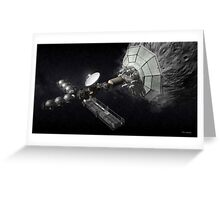 Asteroid Mining And Processing Greeting Card