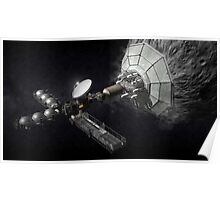 Asteroid Mining And Processing Poster