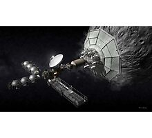 Asteroid Mining And Processing Photographic Print