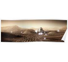 Mars Habitat - Valley End Poster