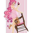 Sailor Moon Pinup - Chibiusa by CptnLaserBeam