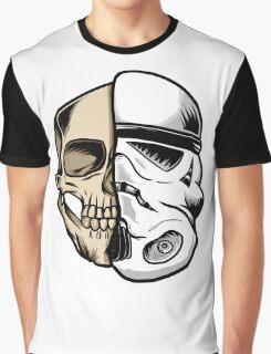 Star Wars Stormtrooper Skull Art Graphic T-Shirt