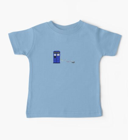 The Dachshunds Have the Phone Box Baby Tee