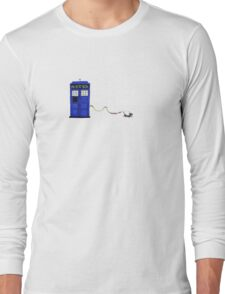 The Dachshunds Have the Phone Box Long Sleeve T-Shirt