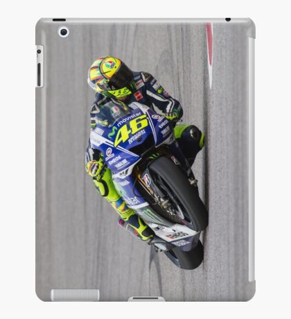 Valentino Rossi at Circuit Of The Americas 2014 iPad Case/Skin