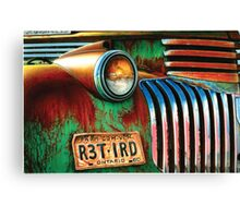 Retired Chevy Canvas Print
