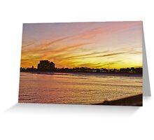 Jacksonville Beach 2 of 2 (FILM) Greeting Card