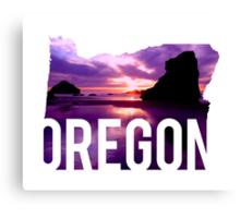 Oregon - Coast Canvas Print