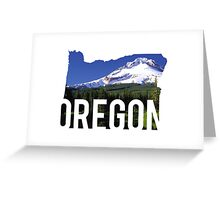 Oregon - Hood Greeting Card
