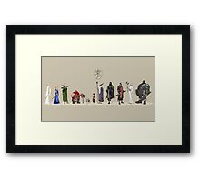 Lord of the Rings - Fellowship Framed Print