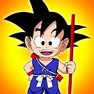 Goku Kid by chibicuty