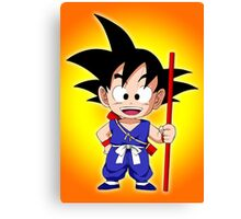Goku Kid Canvas Print