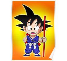 Goku Kid Poster