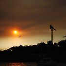 Sunset Haze by Alihogg