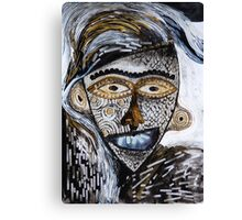 Barbarism (6) - Helmet with Scales Canvas Print